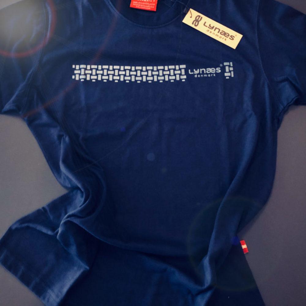 Sail t-shirt LYNÆS denmark, blå