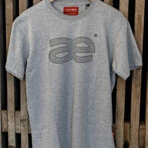 LYNÆS logo, t-shirt, grå