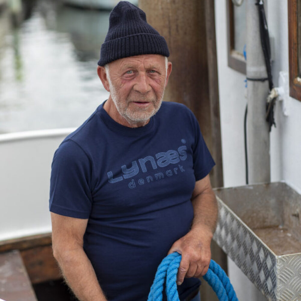 Originale LYNÆS t-shirt, blå