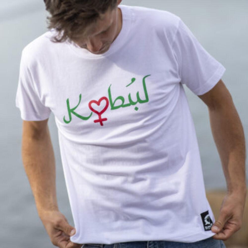 T-shirt til støtte for Afghanistans piger og kvinder 2021